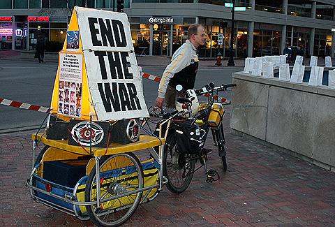 protest bike