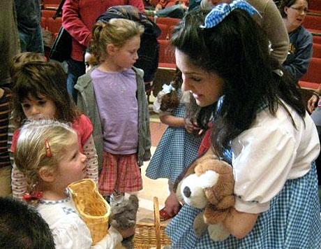 Dorothy meets Dorothy