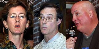7th Ward candidates: Grover, Zbesko, O'Connor