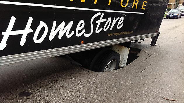 truck-sink-hole